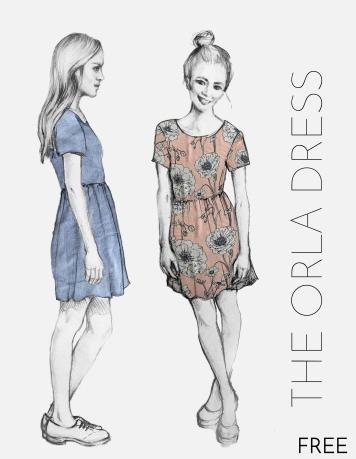 The Orla Dress Pdf Pattern