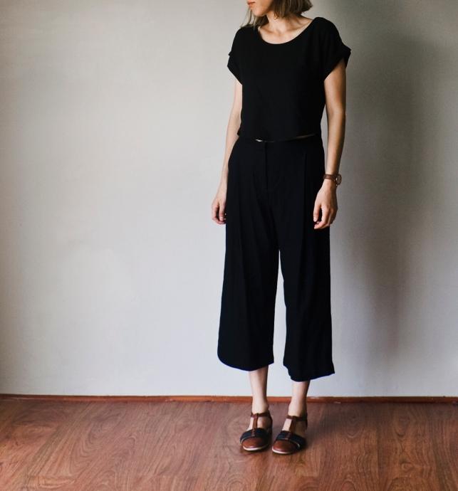 black-culottes