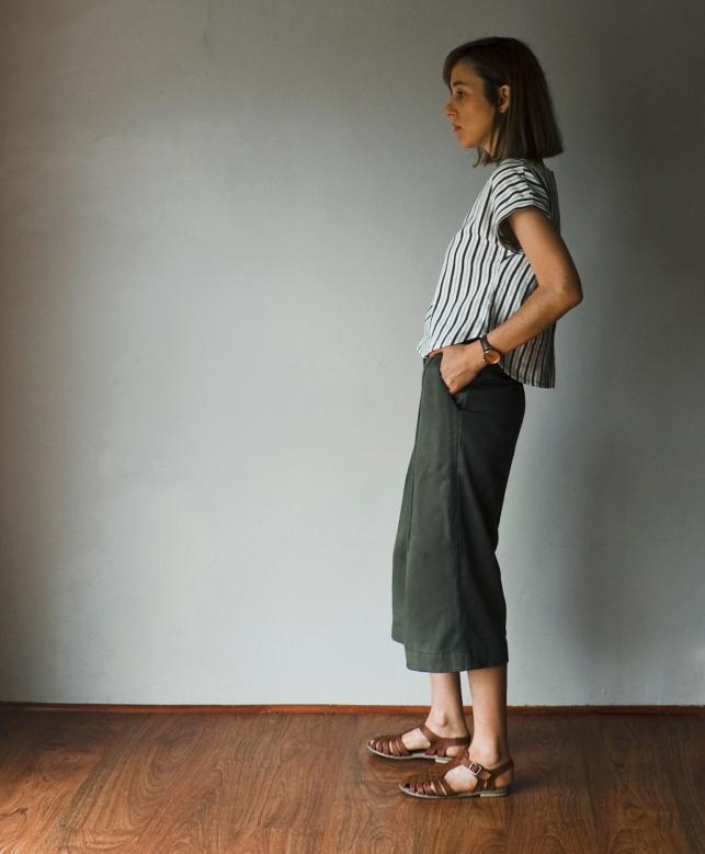 khaki-culottes